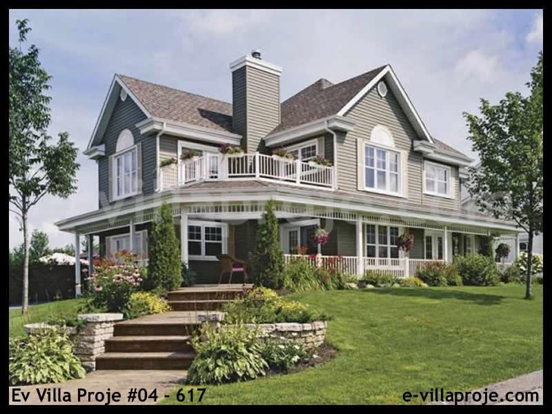 Ev Villa Proje #04 – 617, 2 katlı, 3 yatak odalı, 2 garajlı, 212 m2