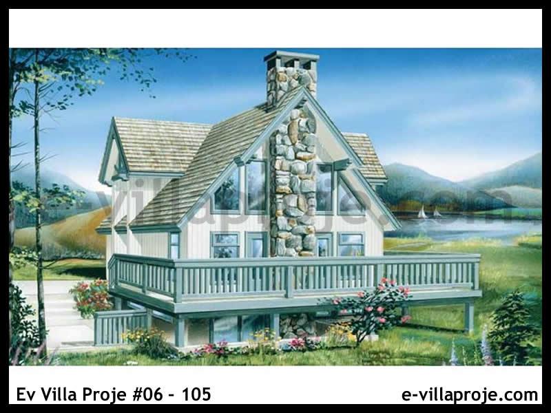 Ev Villa Proje #06 – 105, 2 katlı, 3 yatak odalı, 0 garajlı, 162 m2
