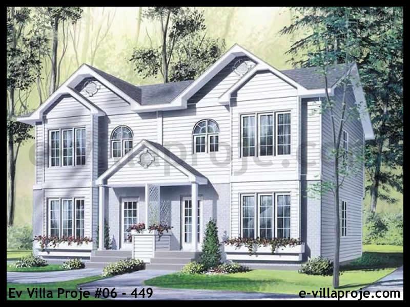 Ev Villa Proje #06 – 449, 2 katlı, 3 yatak odalı, 0 garajlı, 109 m2
