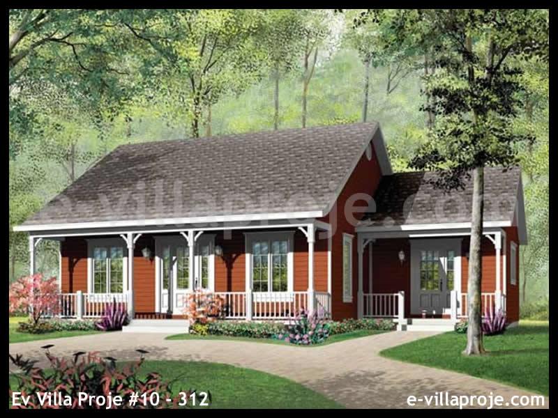 Ev Villa Proje #10 – 312, 1 katlı, 3 yatak odalı, 0 garajlı, 104 m2