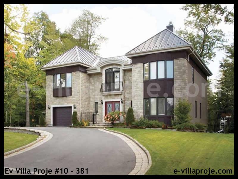 Ev Villa Proje #10 – 381, 2 katlı, 3 yatak odalı, 1 garajlı, 271 m2