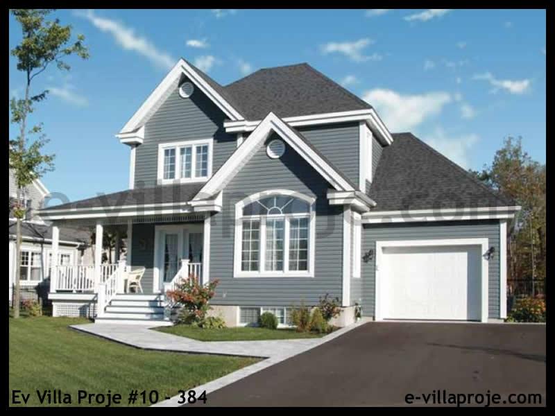 Ev Villa Proje #10 – 384, 2 katlı, 3 yatak odalı, 1 garajlı, 129 m2