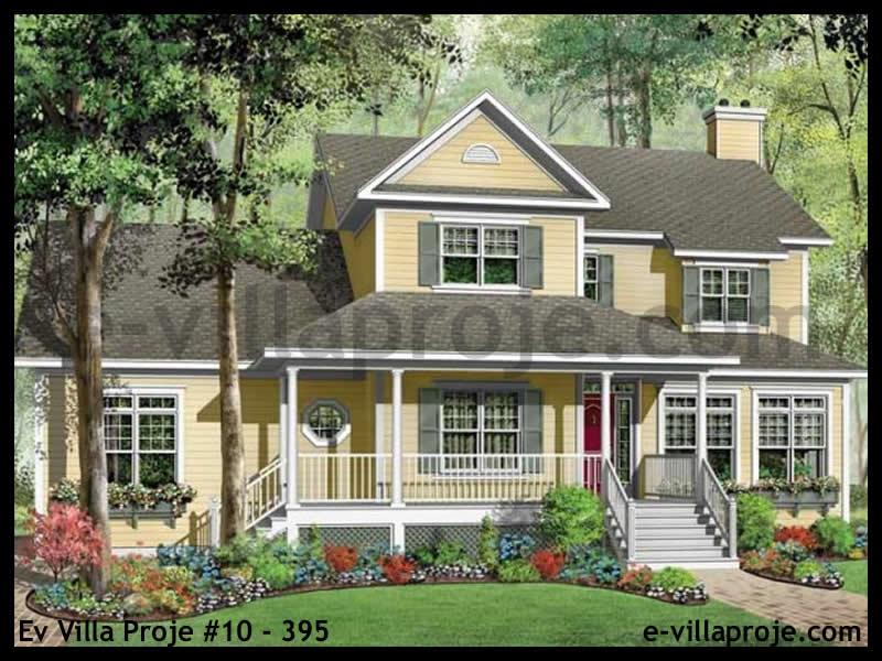 Ev Villa Proje #10 – 395, 2 katlı, 3 yatak odalı, 3 garajlı, 252 m2