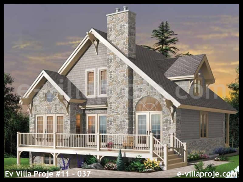Ev Villa Proje #11 – 037, 2 katlı, 3 yatak odalı, 0 garajlı, 147 m2