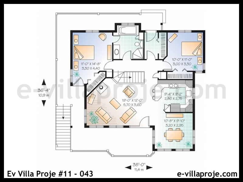 Ev Villa Proje #11 – 043