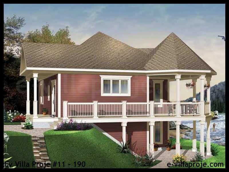 Ev Villa Proje #11 – 190, 1 katlı, 1 yatak odalı, 0 garajlı, 76 m2