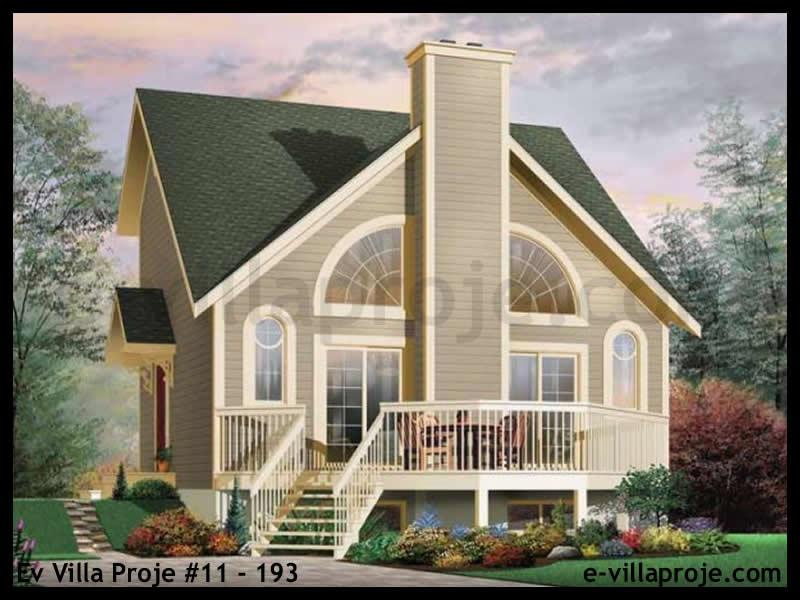 Ev Villa Proje #11 – 193, 2 katlı, 1 yatak odalı, 0 garajlı, 104 m2