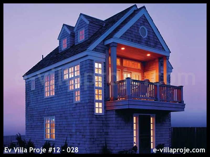 Ev Villa Proje #12 – 028, 2 katlı, 2 yatak odalı, 0 garajlı, 86 m2