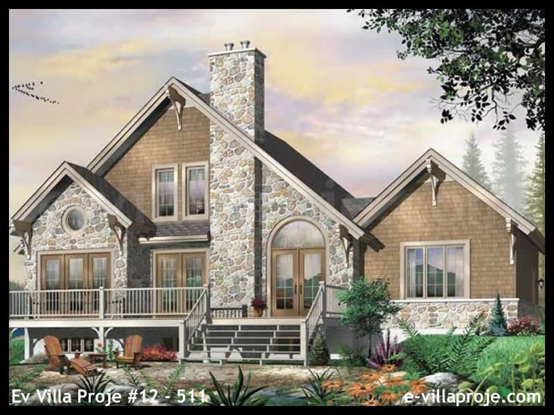 Ev Villa Proje #12 – 511, 2 katlı, 3 yatak odalı, 1 garajlı, 172 m2