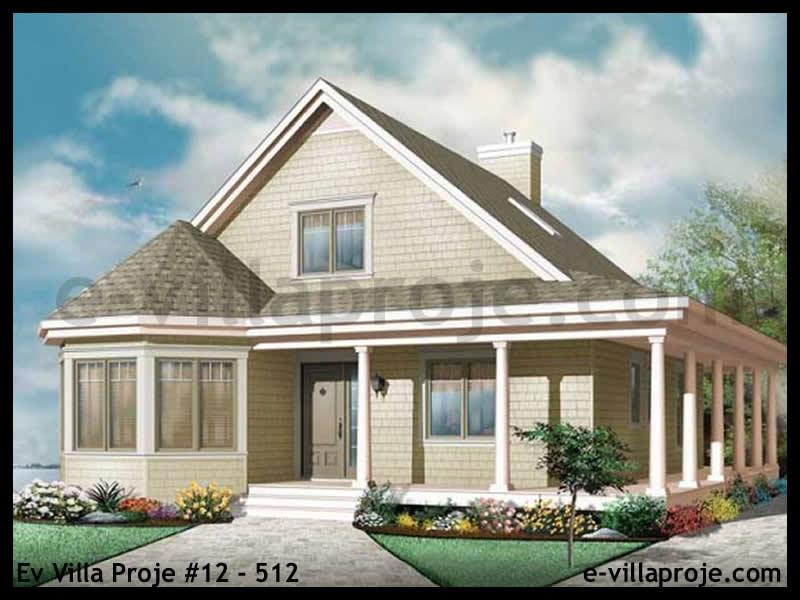 Ev Villa Proje #12 – 512, 2 katlı, 3 yatak odalı, 0 garajlı, 147 m2