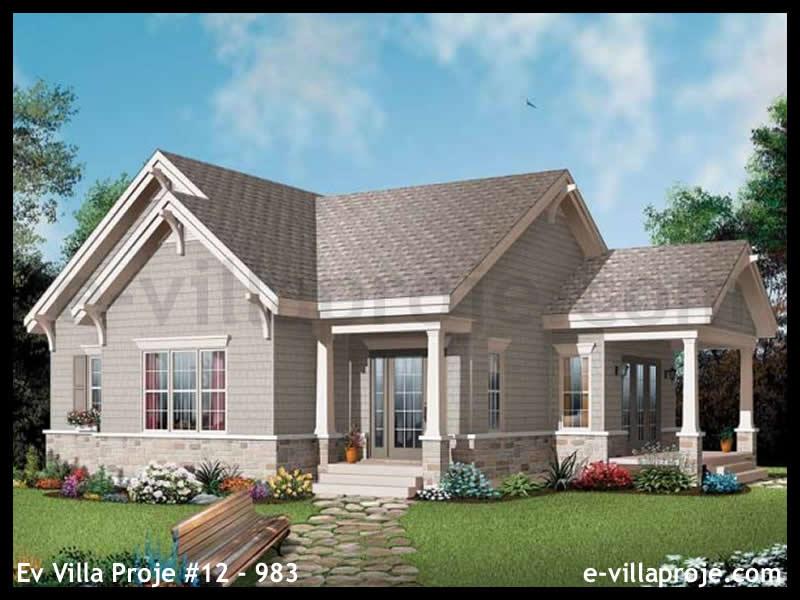 Ev Villa Proje #12 – 983, 1 katlı, 1 yatak odalı, 0 garajlı, 103 m2