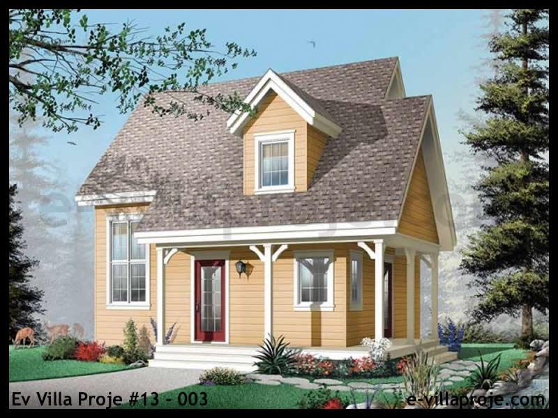 Ev Villa Proje #13 – 003, 2 katlı, 2 yatak odalı, 0 garajlı, 108 m2