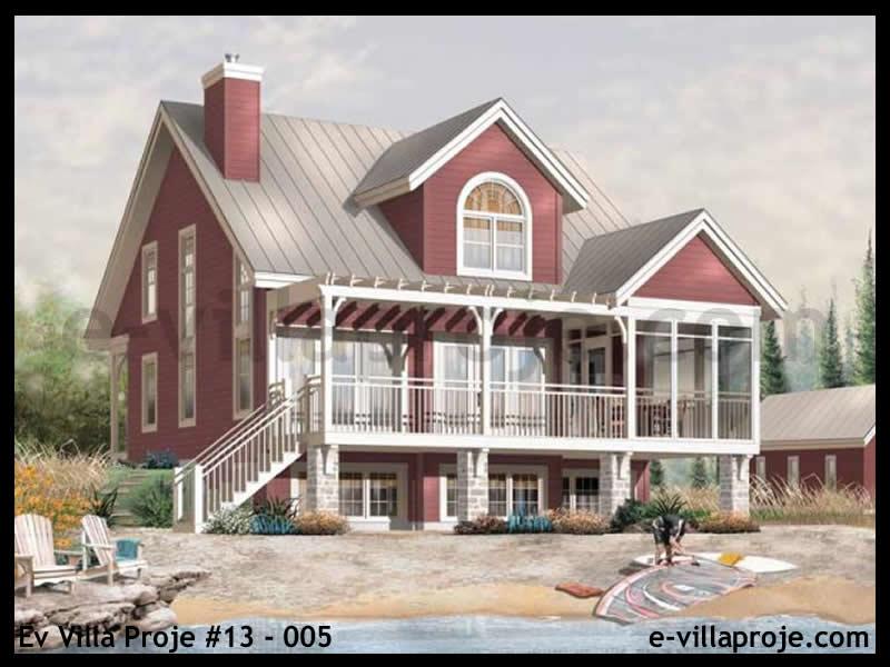 Ev Villa Proje #13 – 005, 2 katlı, 3 yatak odalı, 0 garajlı, 169 m2