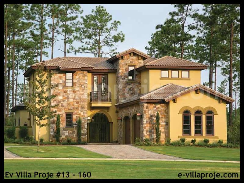 Ev Villa Proje #13 – 160, 2 katlı, 4 yatak odalı, 2 garajlı, 273 m2