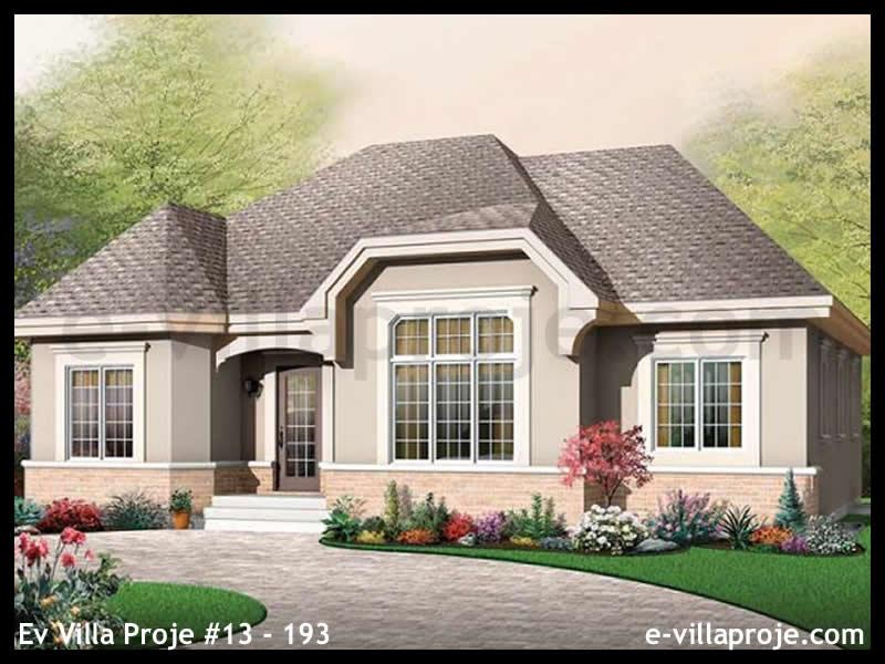 Ev Villa Proje #13 – 193, 1 katlı, 3 yatak odalı, 0 garajlı, 143 m2