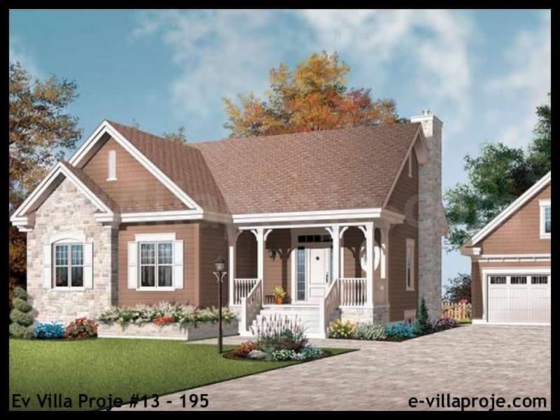 Ev Villa Proje #13 – 195, 1 katlı, 3 yatak odalı, 0 garajlı, 135 m2