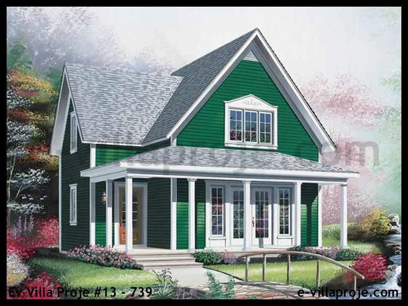 Ev Villa Proje #13 – 739, 2 katlı, 2 yatak odalı, 0 garajlı, 117 m2
