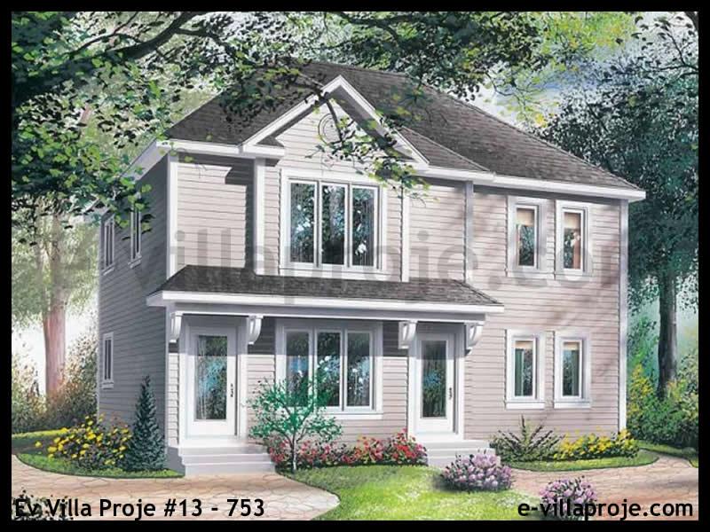 Ev Villa Proje #13 – 753, 2 katlı, 4 yatak odalı, 0 garajlı, 193 m2
