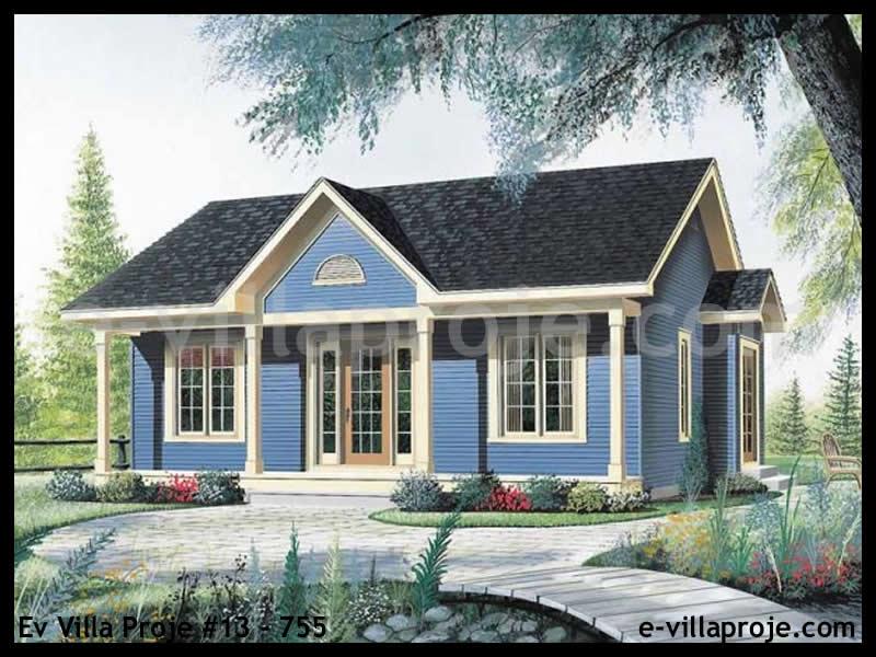 Ev Villa Proje #13 – 755, 1 katlı, 2 yatak odalı, 0 garajlı, 82 m2