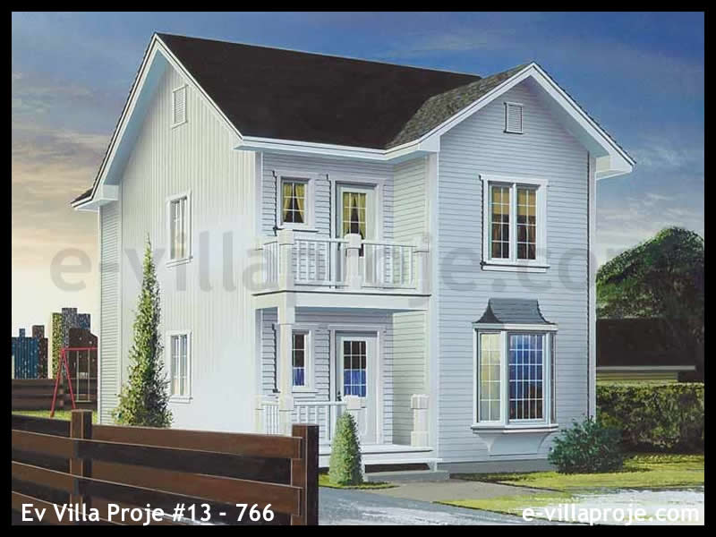 Ev Villa Proje #13 – 766, 2 katlı, 3 yatak odalı, 0 garajlı, 119 m2