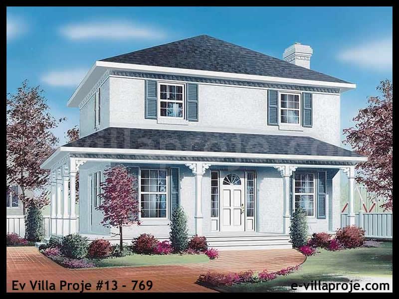 Ev Villa Proje #13 – 769, 2 katlı, 3 yatak odalı, 0 garajlı, 142 m2