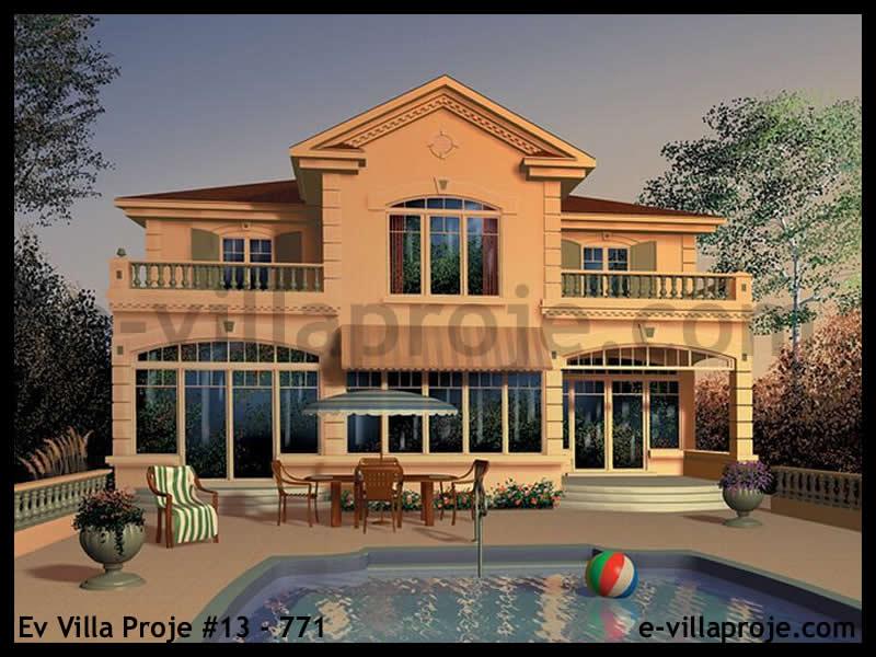 Ev Villa Proje #13 – 771, 2 katlı, 4 yatak odalı, 1 garajlı, 191 m2
