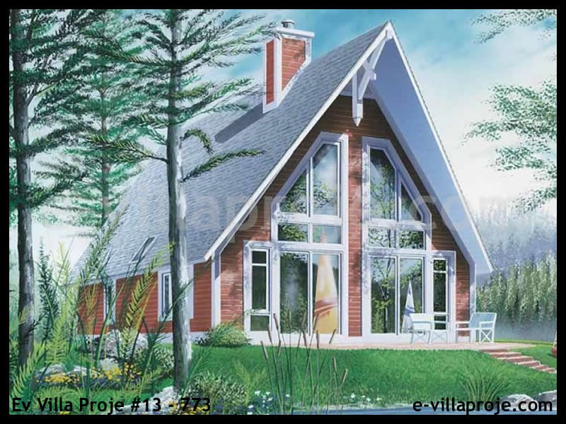 Ev Villa Proje #13 – 773, 2 katlı, 2 yatak odalı, 0 garajlı, 118 m2