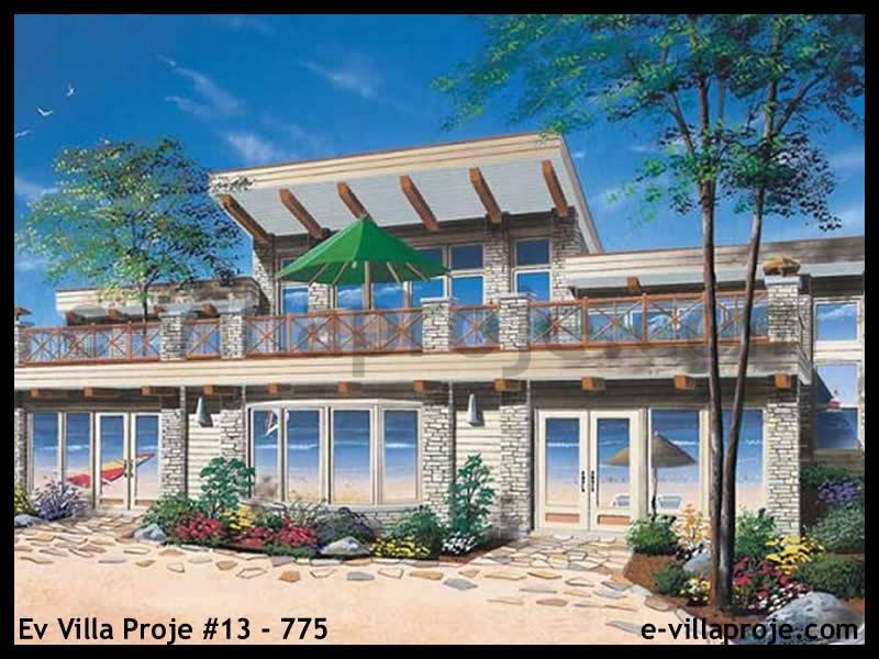 Ev Villa Proje #13 – 775, 2 katlı, 3 yatak odalı, 0 garajlı, 228 m2
