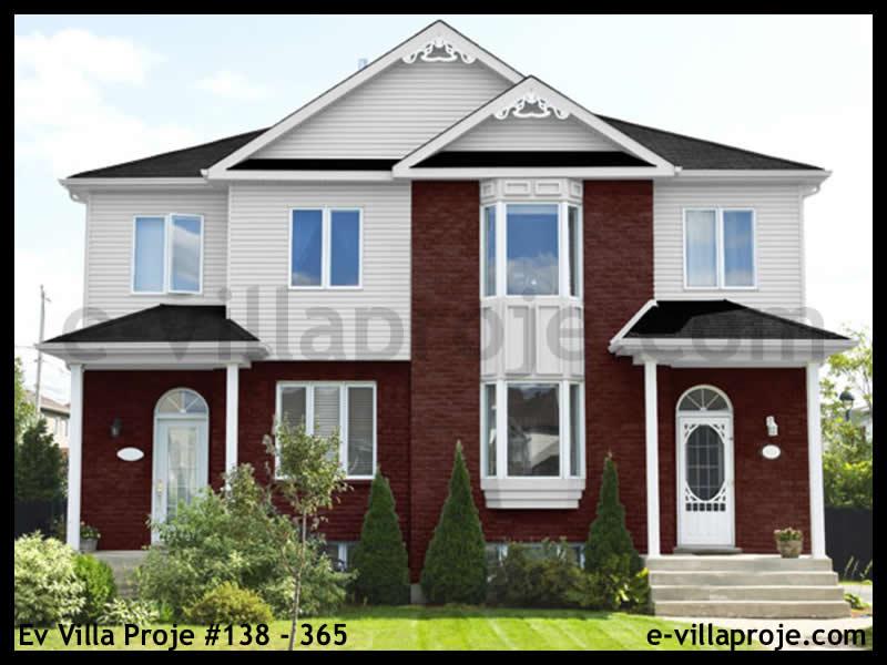 Ev Villa Proje #138 – 365, 2 katlı, 3 yatak odalı, 0 garajlı, 122 m2
