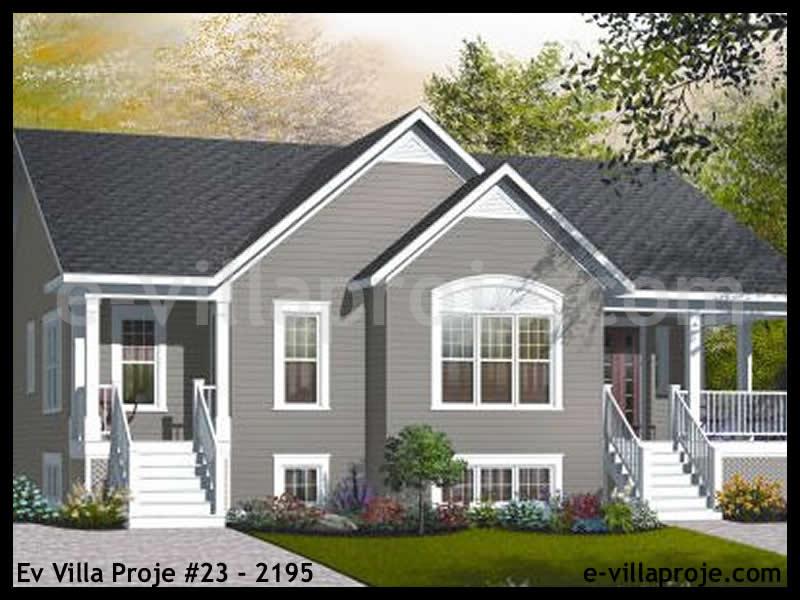 Ev Villa Proje #23 – 2195, 1 katlı, 3 yatak odalı, 0 garajlı, 156 m2