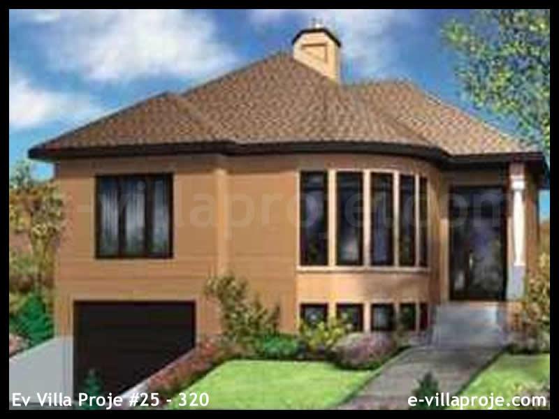 Ev Villa Proje #25 – 320, 2 katlı, 2 yatak odalı, 1 garajlı, 146 m2