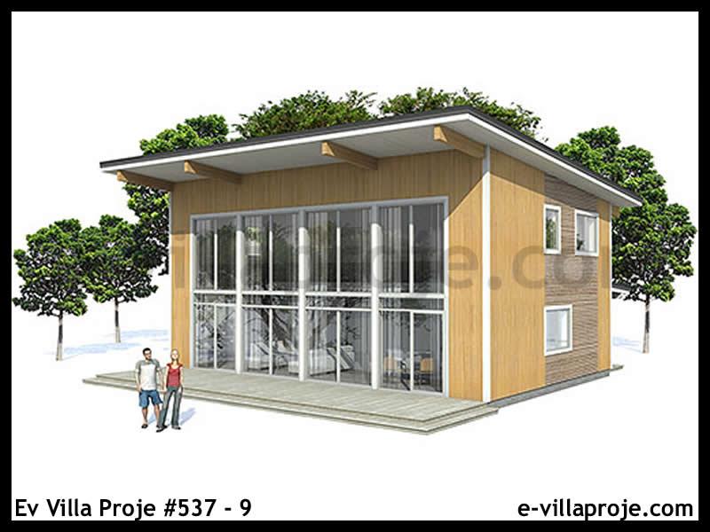 Ev Villa Proje #537 – 9, 2 katlı, 2 yatak odalı, 0 garajlı, 134 m2