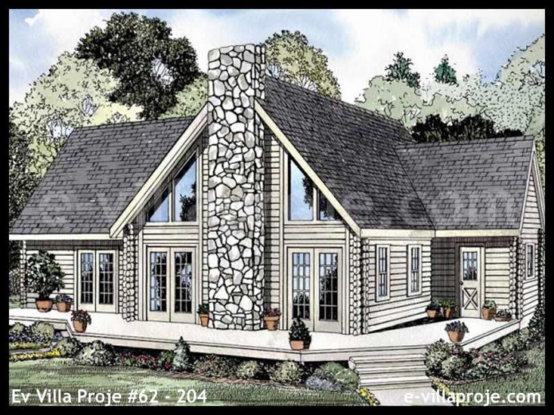 Ev Villa Proje #62 – 204, 2 katlı, 3 yatak odalı, 0 garajlı, 199 m2