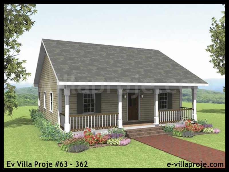 Ev Villa Proje #63 – 362, 1 katlı, 2 yatak odalı, 0 garajlı, 91 m2