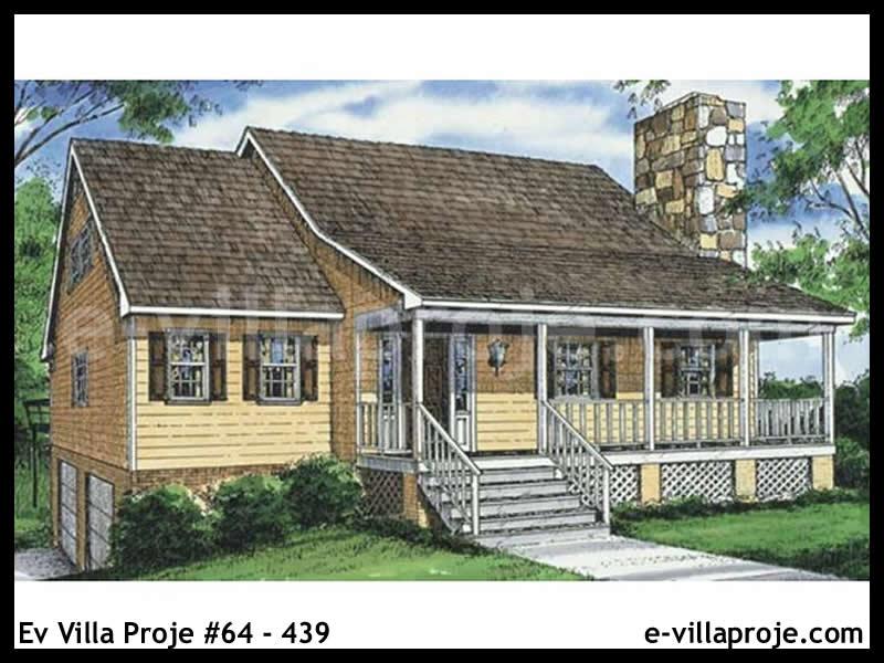Ev Villa Proje #64 – 439, 2 katlı, 3 yatak odalı, 0 garajlı, 159 m2
