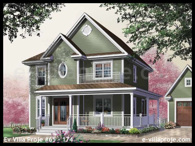 Ev Villa Proje #65 – 174, 2 katlı, 3 yatak odalı, 0 garajlı, 152 m2