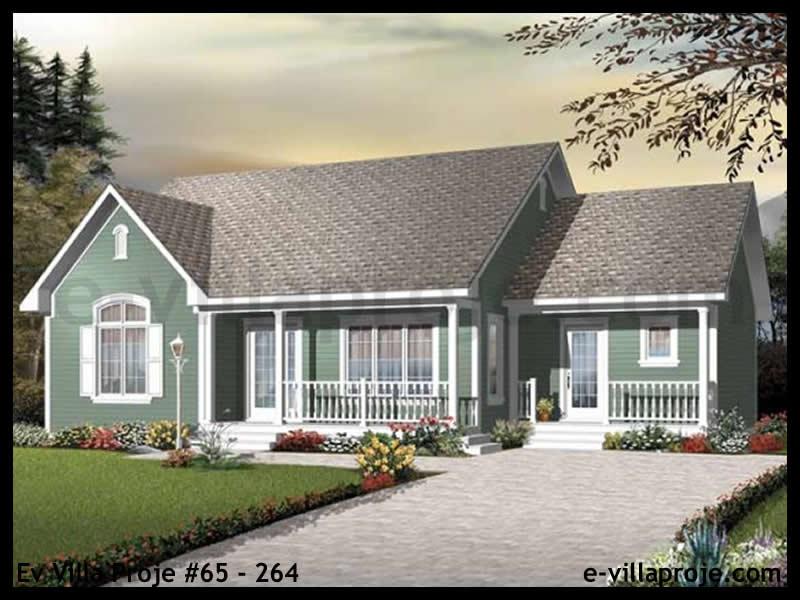 Ev Villa Proje #65 – 264, 1 katlı, 3 yatak odalı, 0 garajlı, 135 m2