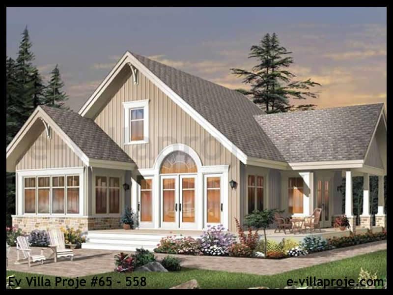 Ev Villa Proje #65 – 558, 2 katlı, 3 yatak odalı, 0 garajlı, 152 m2