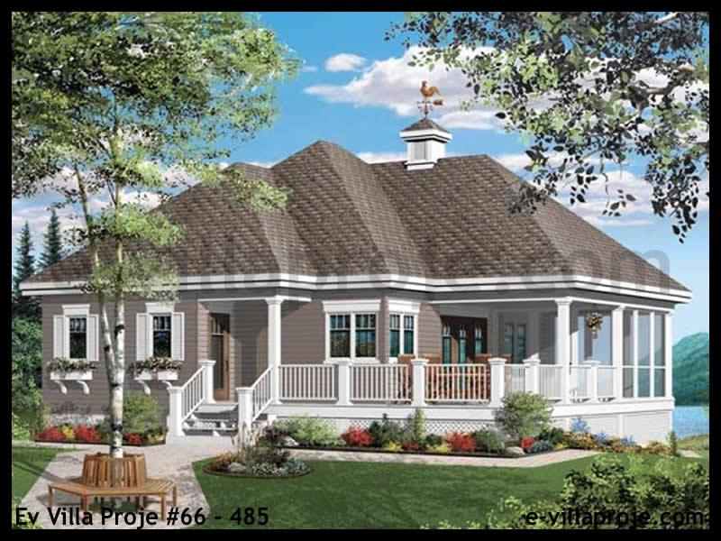 Ev Villa Proje #66 – 485, 1 katlı, 1 yatak odalı, 0 garajlı, 97 m2