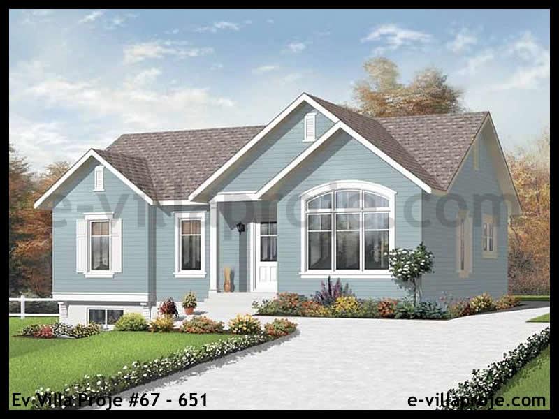 Ev Villa Proje #67 – 651, 1 katlı, 3 yatak odalı, 0 garajlı, 107 m2