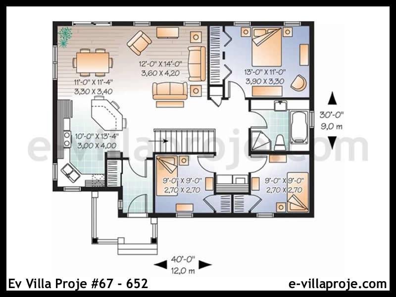 Ev Villa Proje #67 – 652