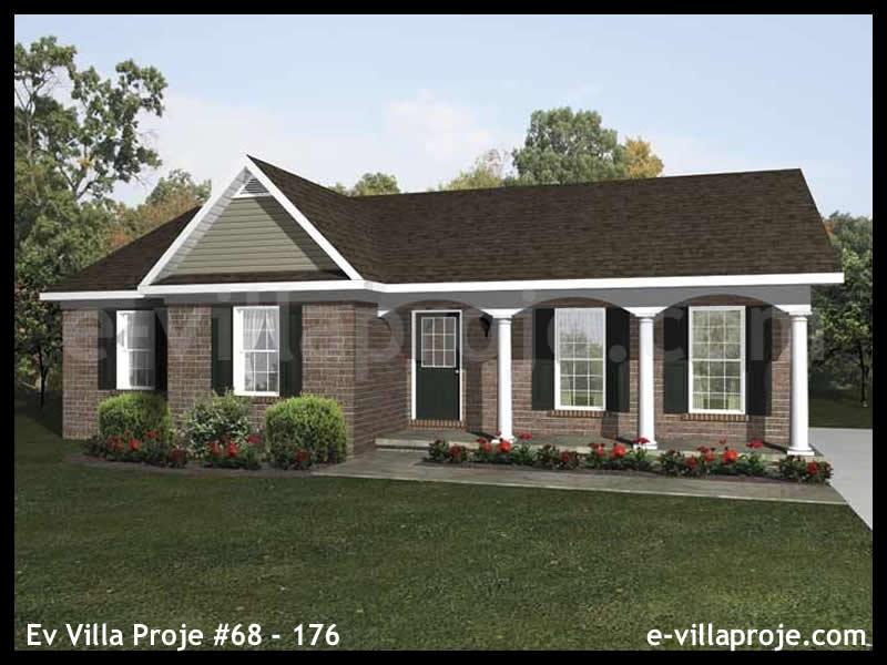 Ev Villa Proje #68 – 176, 1 katlı, 3 yatak odalı, 0 garajlı, 112 m2