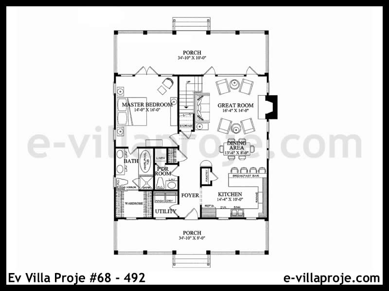 Ev Villa Proje #68 – 492