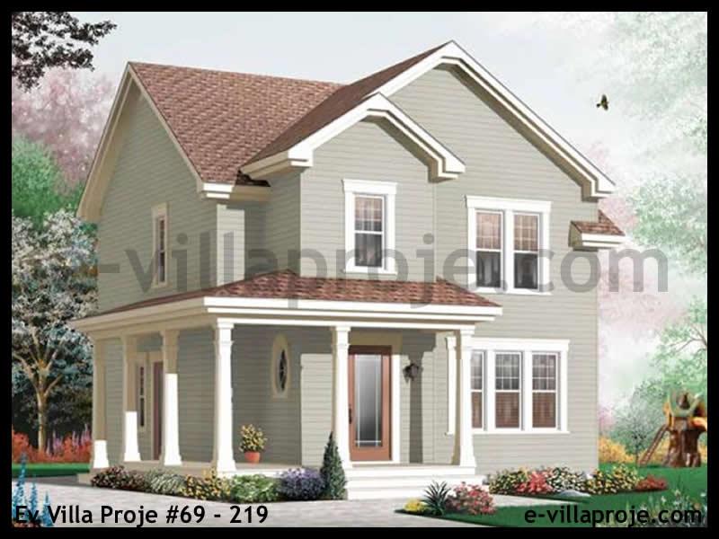 Ev Villa Proje #69 – 219, 2 katlı, 3 yatak odalı, 0 garajlı, 150 m2