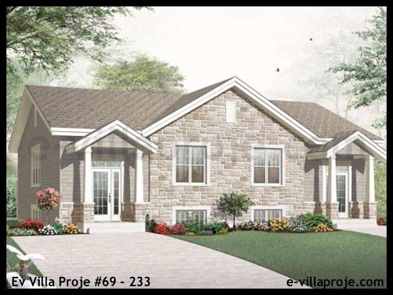 Ev Villa Proje #69 – 233, 2 katlı, 6 yatak odalı, 0 garajlı, 295 m2