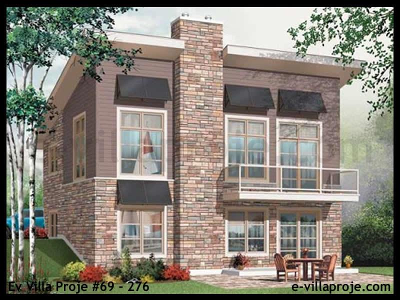 Ev Villa Proje #69 – 276, 2 katlı, 3 yatak odalı, 0 garajlı, 159 m2