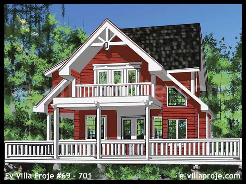 Ev Villa Proje #69 – 701, 2 katlı, 2 yatak odalı, 0 garajlı, 172 m2