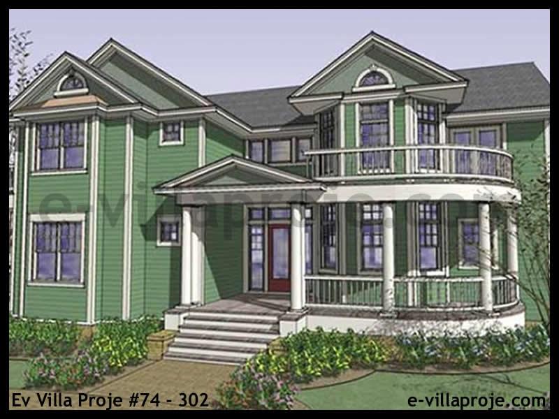 Ev Villa Proje #74 – 302, 2 katlı, 4 yatak odalı, 0 garajlı, 392 m2