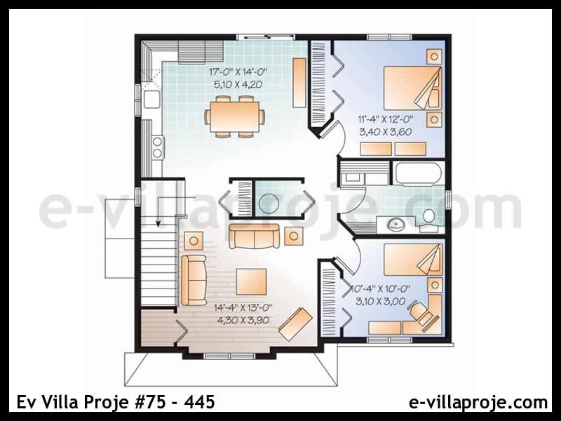 Ev Villa Proje #75 – 445