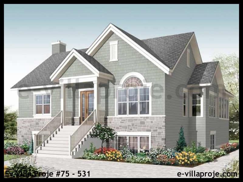 Ev Villa Proje #75 – 531, 2 katlı, 4 yatak odalı, 0 garajlı, 201 m2